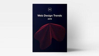 کتاب پرطرفدارترین سبک های طراحی وب 2019