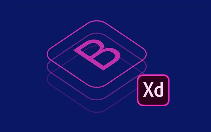 دانلود گرید Bootstrap برای XD