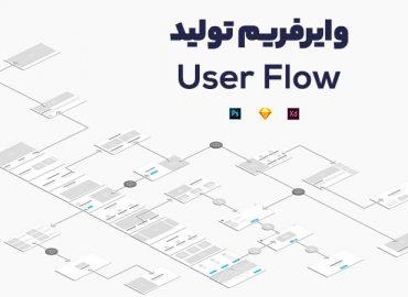 وایرفریم Userflow
