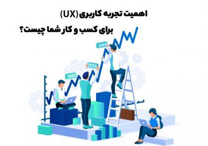 اهمیت تجربه کاربری (UX) برای کسب و کار شما چیست؟