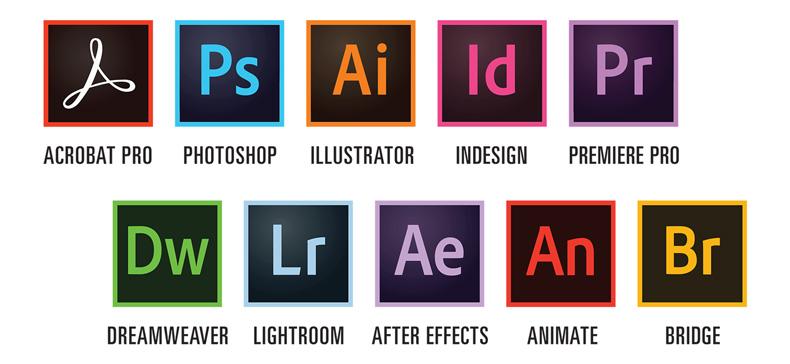 نرم افزارهای Adobe