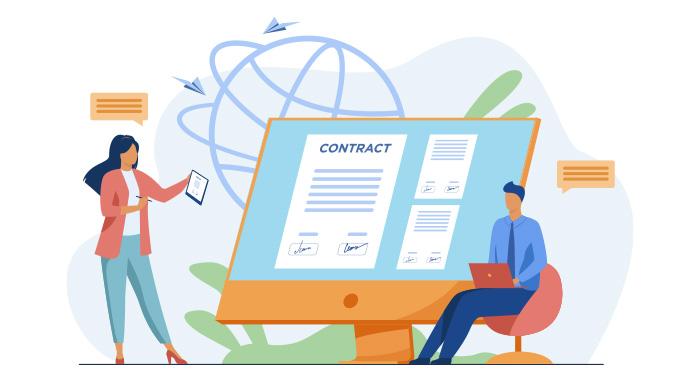 قرارداد طراحی رابط و تجربه کاربری