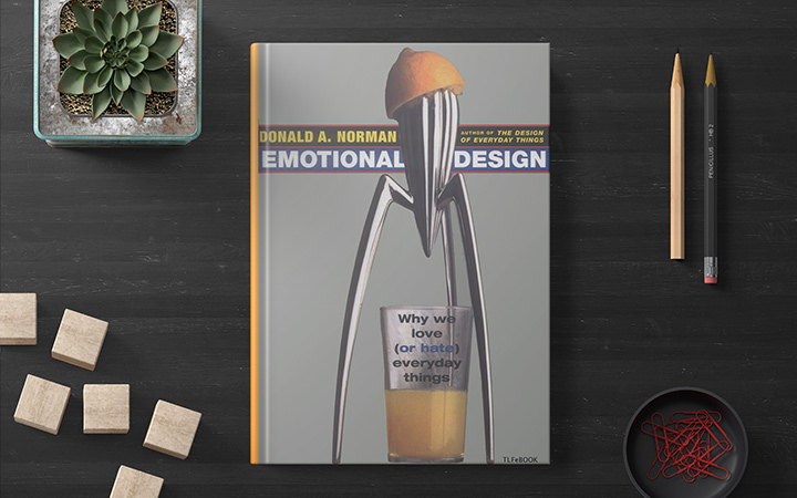 کتاب طراحی احساسی emotional design